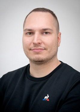 Auszubildender Mediengestalter Jonas Metz